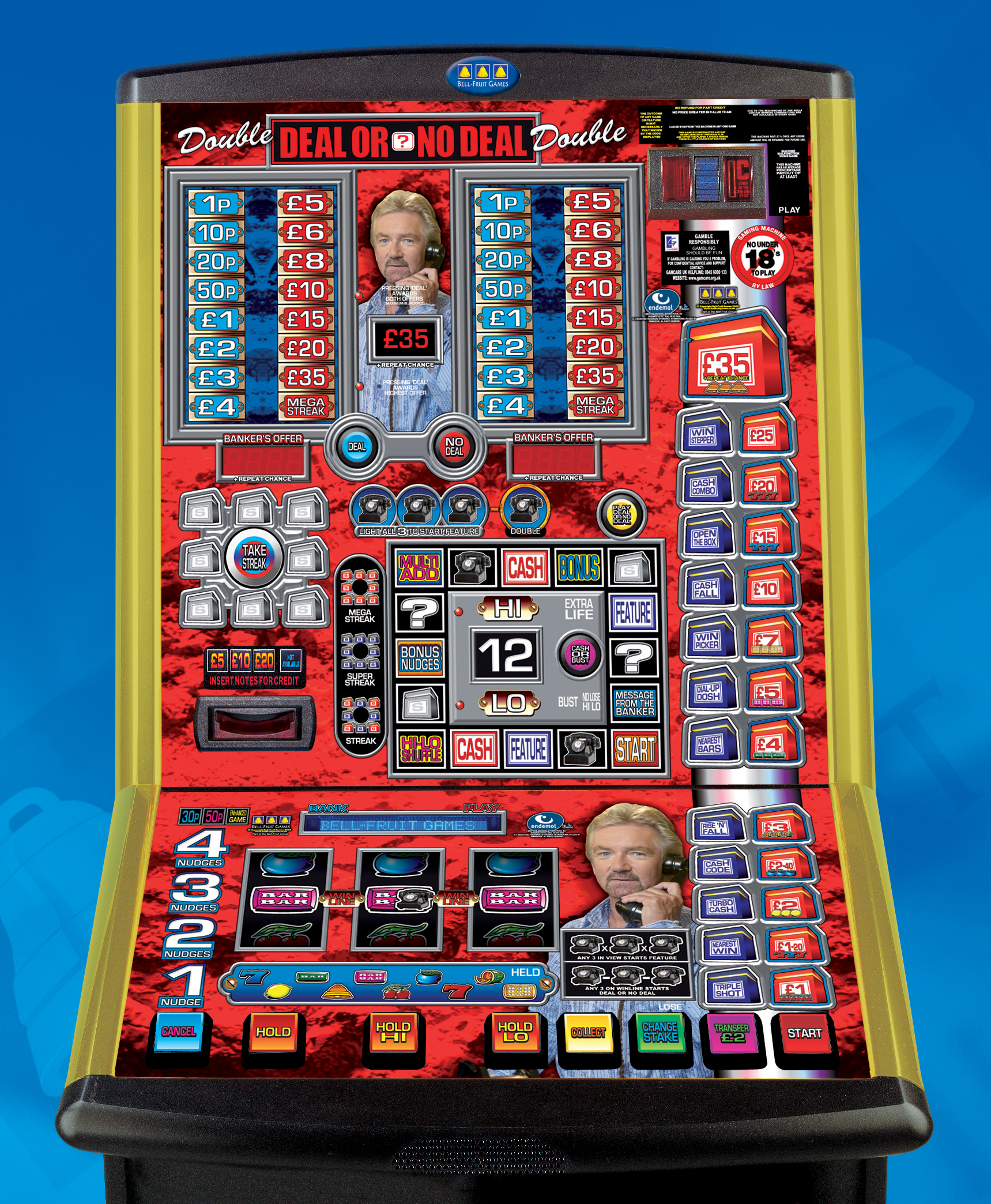 Buy Deal Or No Deal Fruit Machine
